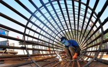 China's steel industry in the first half of 2016 higher rates